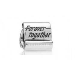 Pendentif bracelet parchemin forever