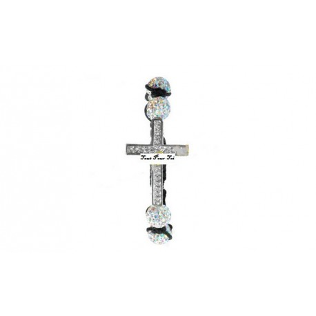Bracelet Shamballa croix