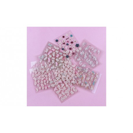 Lot de 10 planches de stickers ongles