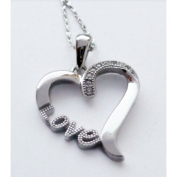Collier coeur Love