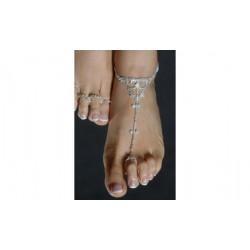 Chaine de cheville parure de pied