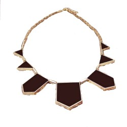 Collier Vintage Style House Of Harlow Noir