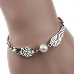 Bracelet Aile d'Ange Et Perle