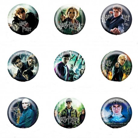 Lot Badges Harry Potter