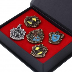 Coffret 5 Pins Harry Potter
