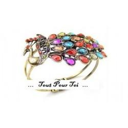 Bracelet Fantaisie Paon